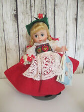 """Madame Alexander Switzerland 594 8"""" Includes metal stand and original packaging"""