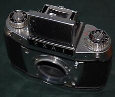 EXA I mit Tasche Ihagee Objektiv Meritar 2,9 / 50 E Ludwig Original Kamerapass
