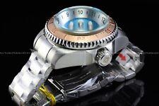 Invicta 52mm Hydromax Skull Ocean Voyage Limited Ed Aqua Blue 1000M Diver Watch