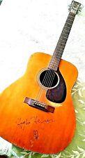Playboy Memoribilia Hefner Signed Guitar