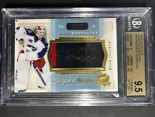 2014-15 The Cup Sergei Bobrovsky Scripted Swatches /35 BGS 9.5 10 Auto