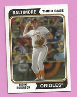 2020 Topps Archives Brooks Robinson #158 Baltimore Orioles