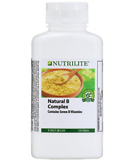 [250 Tablets] Amway NUTRILITE Natural B Complex-NEW