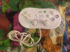 Genuine Official Nintendo Wii/Wii U Classic filaire contrôleur/manette lot 2