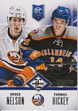 2012-13 Limited Rookie Redemption Islanders #18 Brock Nelson/Thomas Hickey
