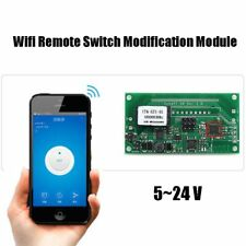 SONOFF DC5V-24V DIY WIFI Wireless Switch Socket SV Module APP Remote Control HQ