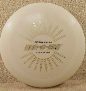 Vintage 1980 Original Wham-O Frisbee Disc 130 Gram Dyn-O-Glo Glow In The Dark