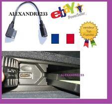 AMI MMI MDI USB Adaptateur Câble pour Audi A3 A4 Q5 Q7 VW MK5 Noir