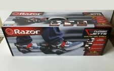 🌟NEW🌟 Razor Turbo Jetts Electric Heel Wheels - Red with Lighted Wheels NIB