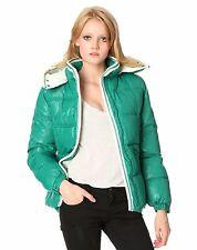 Doudoune veste bel air verte modèle ice neuve avec étiquettes taille 2