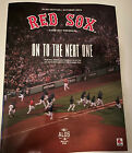BOSTON+RED+SOX+2021+DIVISION+SERIES+PROGRAM+FENWAY+PARK+TAMPA+BAY+RAYS