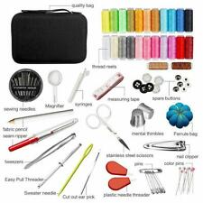 126Pcs/Set Sewing Kit Scissors Needle Thread Stitching Hand Sewing Tool Homeuse