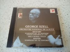 MOZART     Symphonie N 35 / SZELL   CD  RARE