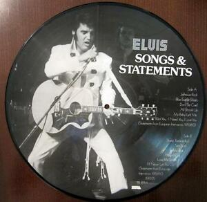 Limited Edition Picture Vinyl / ELVIS PRESLEY / RARITÄT /