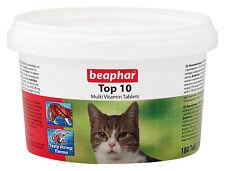 BEAPHAR SOPRA 10 gatto multi VITAMINA PILLOLE 180 tablets/117g & Minerali