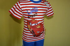Disney Cars ♦ Sommer Set Short kurze Hose + Shirt ♦ Gr. 92- 116 ♦ 2-6 J.