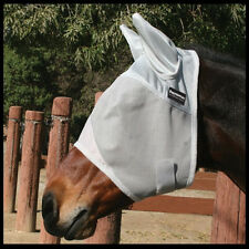 Professionals Choice Equisential Fly Mask protection Masks Arab With Ears Tack