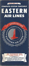 Eastern Air Lines system timetable 8/1/57 [9072] Buy 4+ save 25%