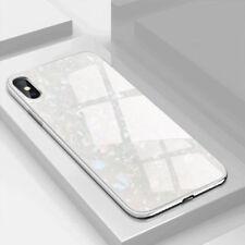 Luxury Ultra Thin Slim Acrylic Hard Back Case Cover Apple iPhone 10 X 8 7 6s Lot