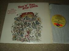 "@ BOF ROCK'N'ROLL HIGH SCHOOL 33 TOURS LP 12 "" USA RAMONES ALICE COOPER"