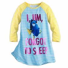 DISNEY STORE Girls' 4, 7/8 Finding Dory Nightgown or Sleep Shirt NWT