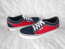 EUC Vans Men's 7 Women's 8.5 Chukka Low Shoes Skate Sneakers Leather Canvas