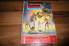 PERRY RHODAN  # 430 -- ULTIMATUM der CAPPINS // 1. Auflage 1969