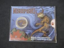 "2011 Canada oversize 25 Cents Coloured Coin ""Mishepishu"" - Mythical Creatures"