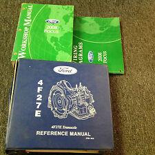 2008 FORD FOCUS Service Repair Shop Workshop Manual Set W Trans & EWD Book OEM
