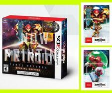 Pre METROID Samus Returns 3DS Special Edition + amiibo Aran Japan game CD