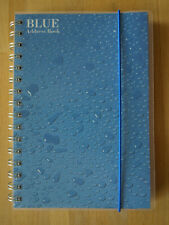 Adressbuch 'Blue Address Book' von LEM Art, Din A5