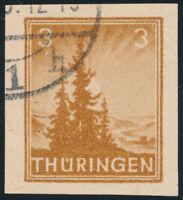 SBZ, MiNr. 92 V 2, Versuchsdruck, gestempelt, Befund Schulz, Mi. 240,-