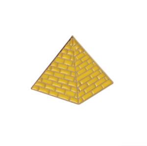 Pyramid enamel pin. FREE P&P! Badge Fashion Brooch DIY Lapel Metal Accessory