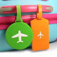 1PC Travel Luggage Tag Cartoon Address ID Name Card Suitcase Baggage Label Tags