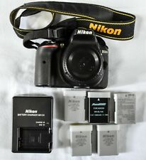 Nikon D5300 Digital SLR Camera Body Only w/extra batteries