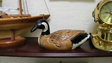 """CANADA GOOSE DECOY """"hand carved"""""""