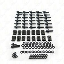 Black Motorcycle Spike Fairing Bolts Kit For 2002 2003 Yamaha Yzf R1 Yzf-R1