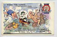 More details for (gt527-428) daily mail, teddy tail league by foxwell, rare pre war 1937 used vg