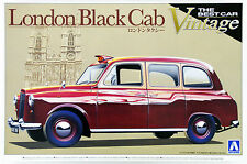 Aoshima 00724 London Cab Taxi 1/24 scale kit FJH