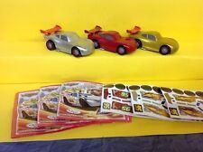 Komplettsatz Maxi Ei Disney Cars Limited Edition Italy  2014  mit allen BPZ