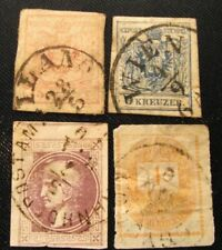 Austria and Hungary. Early stamps