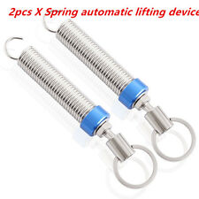 2Pcs Adjustable Automatic Car Trunk Boot Lid Lifting Metal Spring Device Parts