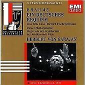 Brahms ein Deutsches Requiem - Vienna Philharmonic Herbert Von Karajan CD 1998