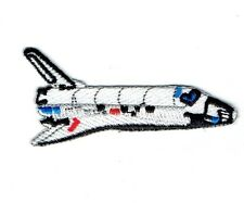 Space Shuttle - Iron on Applique Embroidered Patch - 697167-A