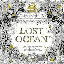 Lost Ocean An Inky Adventure Adult Colouring Book Johanna Basford Sea Water Calm