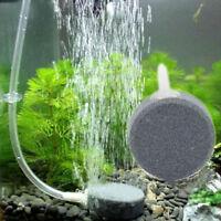 Air Bubble Disk Stone Aerator Aquarium Fish Tank Pond Pump Hydroponic Oxygen