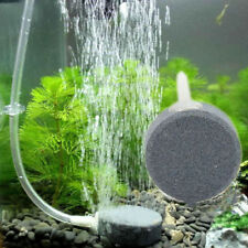 Air Bubble Disk Stone Aerator Aquarium Fish Tank Pond Pump Hydroponic Oxygen