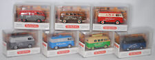 Wiking 078809 Set 85 Jahre Wiking mit 7 VW Transporter T1, Limited Edition, 1:87
