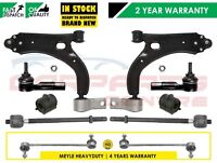 FOR FORD FIESTA FRONT SUSPENSION ARMS LINKS INNER OUTER TRACK ROD ENDS D BUSHES