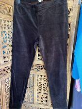 White Stuff Black Velvet Jeggings Leggings  Is Size 16